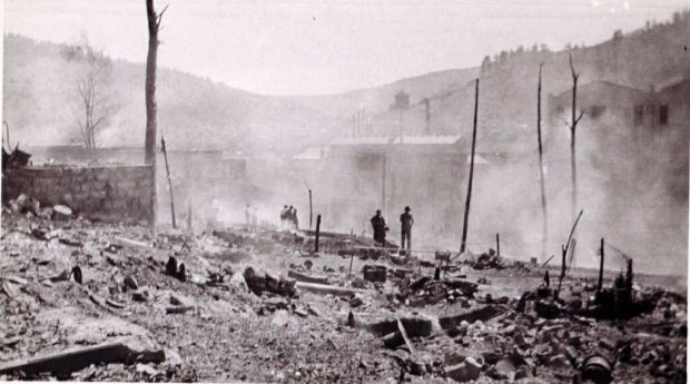 main-street-burning-in-richwood-wv