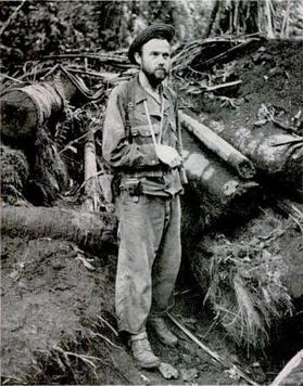 Herman Bottcher at Buna Gona