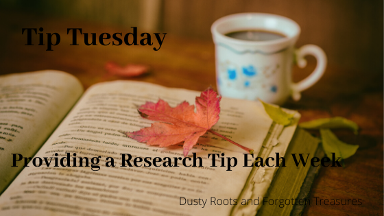 Research Tip of the Week